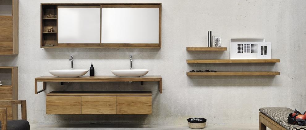 Einfach authentische Möbel für das Bad - essentialluxury
